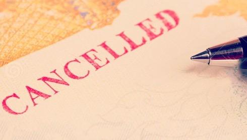 Kết quả hình ảnh cho hủy visa úc